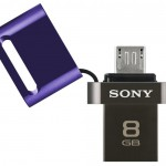 Sony 2-in-1 USB Flash Drive with Dual Micro USB and USB 2.0 Connectors