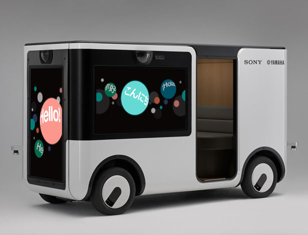 Sony and Yamaha Motor Teamed Up to Design Cart for Entertainment Use