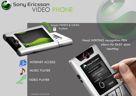 sony ericsson video phone concept