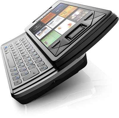 XPERIA X1 Slider-Phone from Sony Ericsson