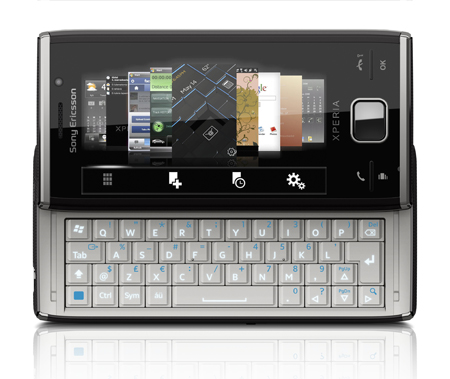 Sony Ericsson XPERIA X2 with 8.1 Megapixel Camera is Lighter Than X1