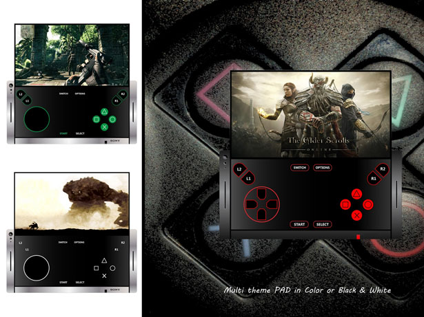 Shadow Concept Cell Phone for SONY by Mladen Milic