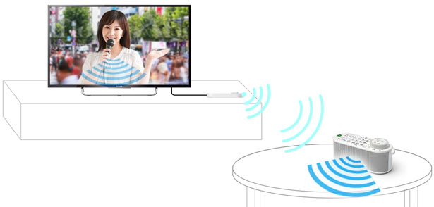 Sony SRS-LSR200 Combines Wireless Speaker and TV Remote Control