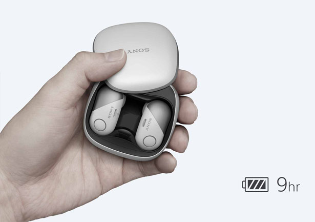 Sony WF-SP700N Wireless Bluetooth Earbuds
