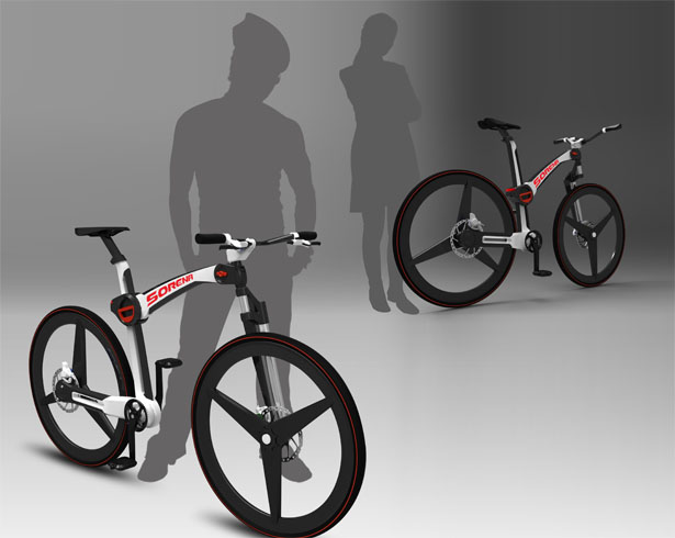 Sorena Foldable Urban Street Bicycle