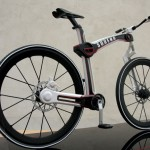 Sorena Foldable Urban Street Bicycle by Mahdi Momeni