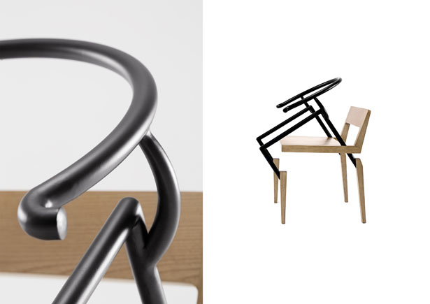 Soul Chair by iAN Yen and Design YXR