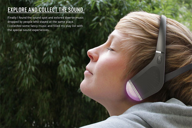 Sound Drop Headphones by Indeed Innovation