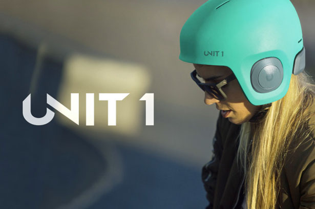 Soundshield Helmet: Audio for action sports reinvented by Unit 1
