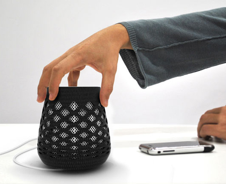 sourdine wifi speaker by arnaud lapierre
