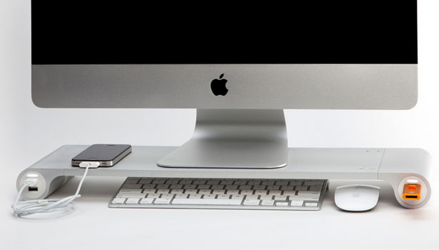 Space Bar Desk Organizer by Michael Cavada