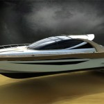 Space65' Yacht : Timeless Yacht Design That Features Huge Transparency Glass Dome