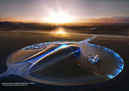 spaceport america by urs foster and partners