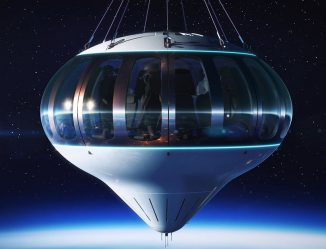 Forget Rockets, Spaceship Neptune Takes You to Outer Space with a Futuristic Space Balloon