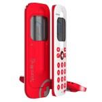 SpareOne Plus Emergency Phone Uses Single Standard AA Battery for Power