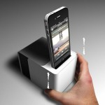 SpeakerCubeDock (SCD) : Portable Speaker Dock for Your iPhone/iPad