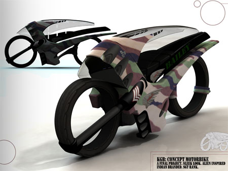 speed racing bike concept