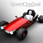 SpeedOneSeat Concept Car for Urban Areas