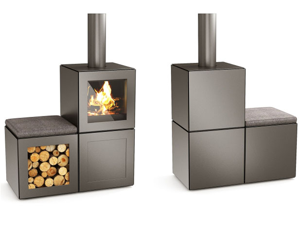 speetbox modular stove by philippe starck for speeta tuvie. Black Bedroom Furniture Sets. Home Design Ideas