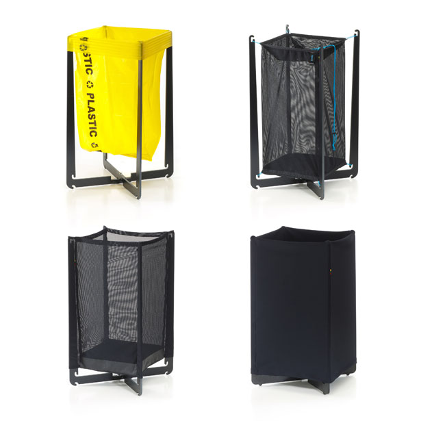 Spider Bin Recyclable Waste Sorting System by Urte Smitaite