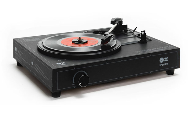 Spinbox Cardboard Box Turntable