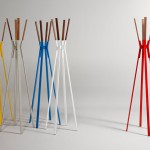 Splash Coat Rack by Blu Dot