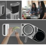 Split Induction - Smart Multiple Cooking Platform System by Julius (Chee Kin) Pang