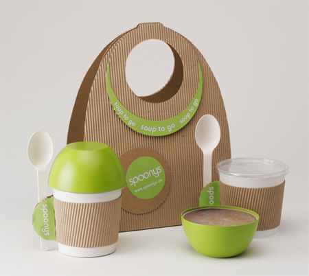 Spoonys Packaging and Trailer