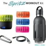 SPRITZ : Sports Water Bottle with Integrated Audio Speaker
