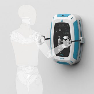 SPRY Elderly Fitness Game Machine to Keep Elderly People Physically Active During Stay-at-Home Orders