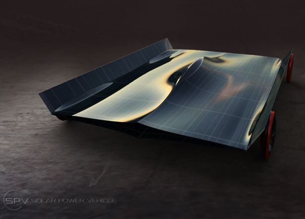 SPV Solar Powered Vehicle by Omer Sagiv