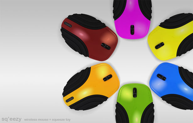 SQ'EEZY Wireless Computer Mouse by Bharat Jayagopal