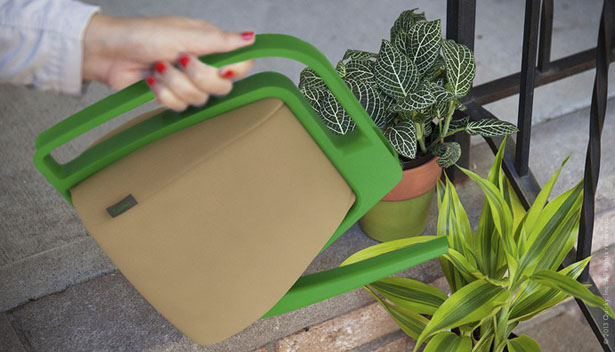 Squish Fold Flat Watering Can by Marc R