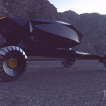 SS11 Off-Road Autonomous Vehicle for Mars-Like Places