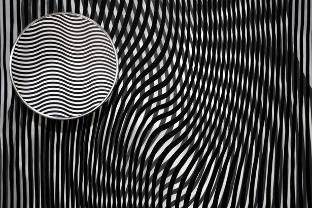 SS17 Fashion Design Uses Optical Illusion by Elaheh Safi