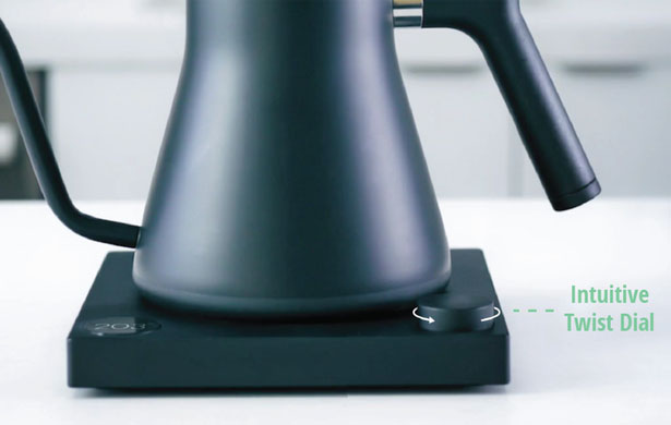 Stagg EKG - The Electric Pour-Over Kettle for Coffee Lovers by Fellow