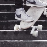 Stair-Rover Skateboard Offers A Smooth Ride Over Rough Surfaces