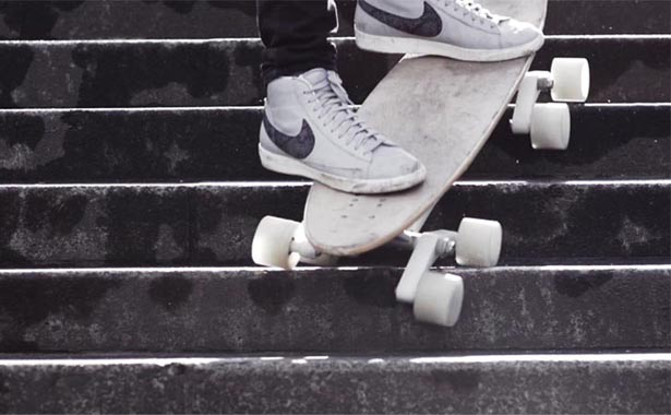 Stair-Rover Skateboard by Po Chih Lai