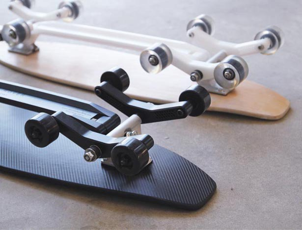 Stair Rover Skateboard by Po Chih Lai