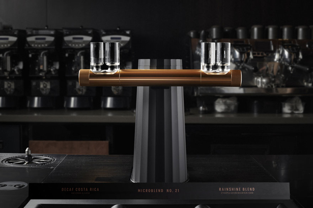 Phantom Espresso Maker Concept by Starbucks Industrial Design and Starbucks Equipment Development Thermoplan AG