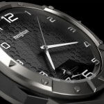 Stealth Tourbillon Dual Time Digital Watch by Menghsun Wu