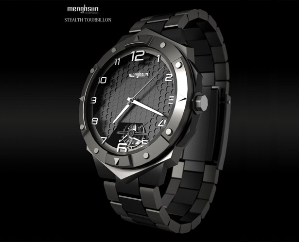 Stealth Tourbillon Watch