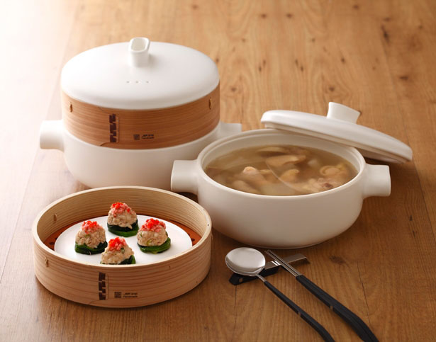 Steamer Set From Jia Inc Features Traditional Design With