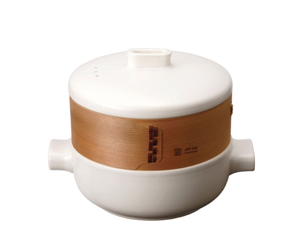 Steamer Set by JIA Inc - Traditional Steamer with Modern Twist