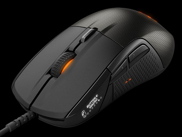 SteelSeries Rival 700 Gaming Mouse Features Customizable OLED Display and Tactile Alerts
