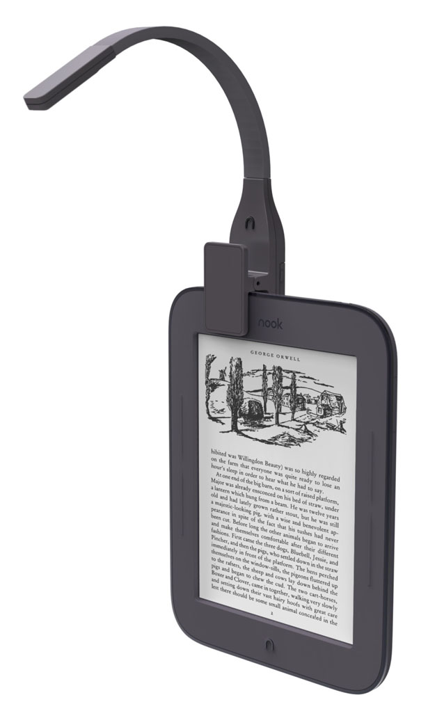 Stella Reading Light : Clip This Light to Any eReader And Enjoy Better Reading Experience