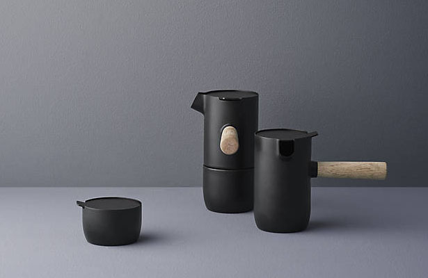 Stelton Collar Espresso Maker by Daniel Debiasi and Federico Sandri
