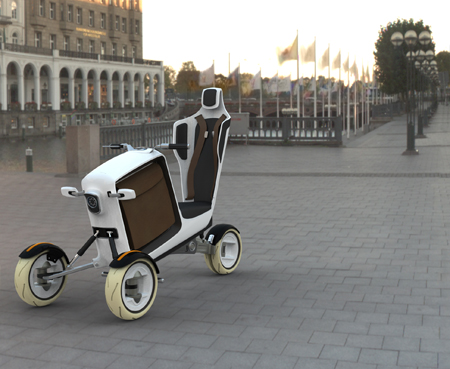 STEM Lightweight and Small Electric Concept Vehicle for Urban Environment