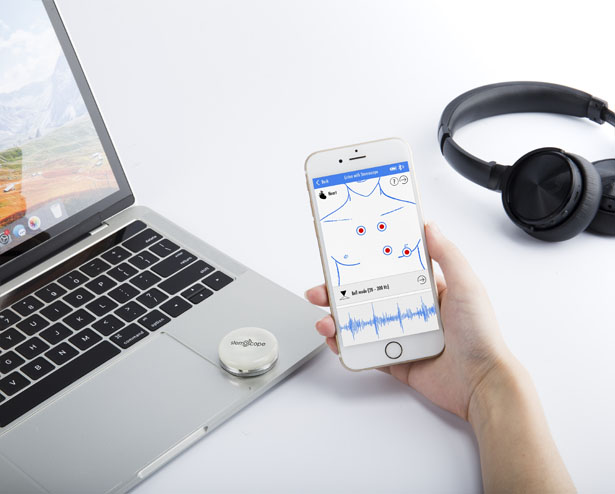 Stemoscope - Smart, Connected Wireless Stethoscope