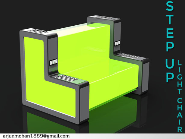 STEP UP - Light Chair by Arjun MM